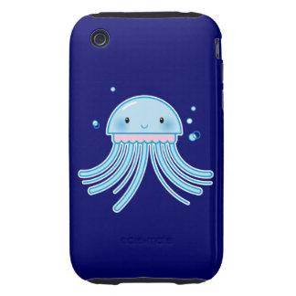 Medusas de Kawaii iPhone 3 Tough Fundas
