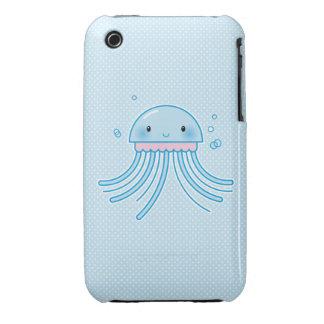 Medusas de Kawaii Case-Mate iPhone 3 Protector