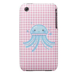 Medusas de Kawaii iPhone 3 Case-Mate Fundas