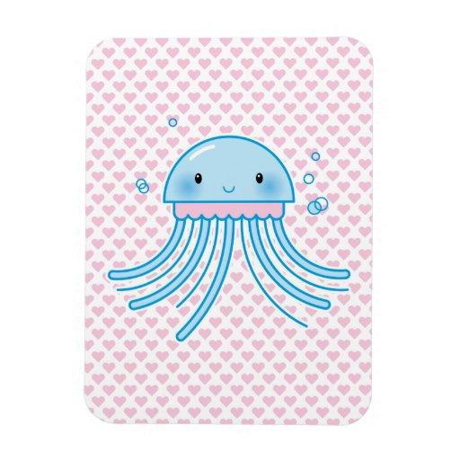 Medusas de Kawaii Iman De Vinilo