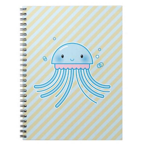 Medusas de Kawaii Libros De Apuntes