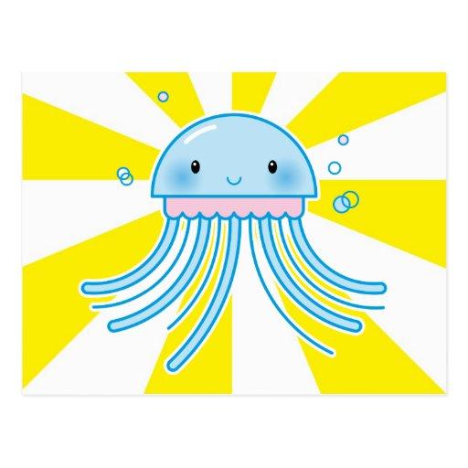 Medusas de Kawaii Postal