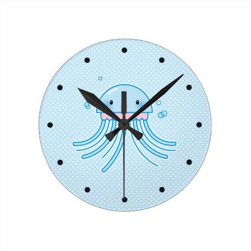 Medusas de Kawaii Reloj