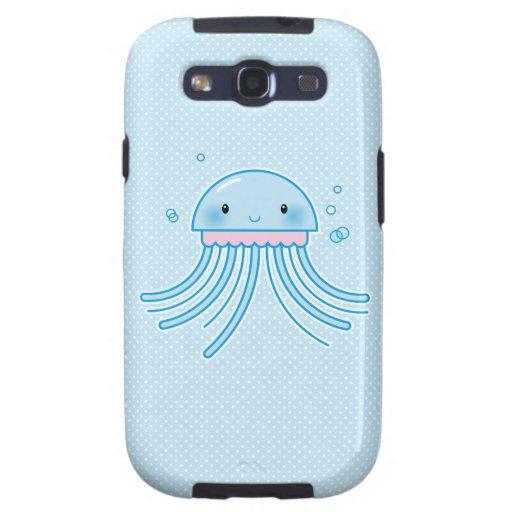 Medusas de Kawaii Samsung Galaxy S3 Carcasas