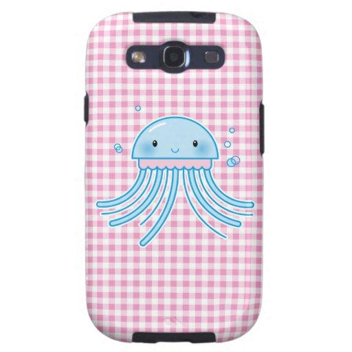 Medusas de Kawaii Samsung Galaxy SIII Funda