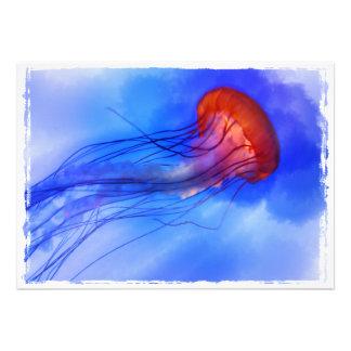 Medusas de la acuarela