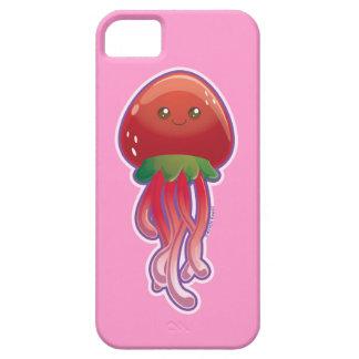 Medusas de la fresa iPhone 5 cobertura