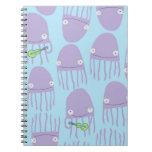 ¡Medusas de la uva del diario! Cuaderno