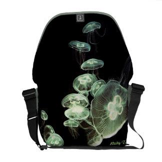 Medusas de neón bolsas de mensajeria
