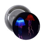 Medusas de neón pin