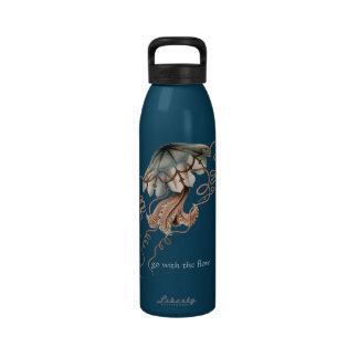 Medusas del vintage botellas de agua reutilizables