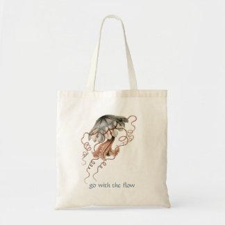 Medusas del vintage bolsa lienzo