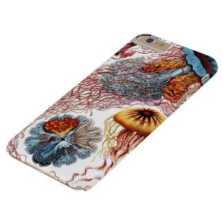 Medusas del vintage, Discomedusae de Ernst Haeckel Funda De iPhone 6 Plus Barely There