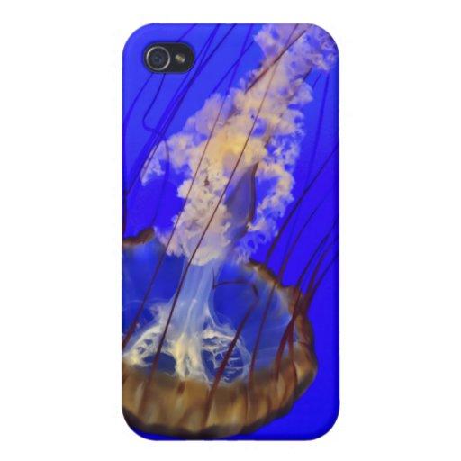 Medusas fantasmales iPhone 4 carcasa