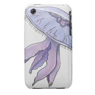 Medusas ilustradas Case-Mate iPhone 3 protectores