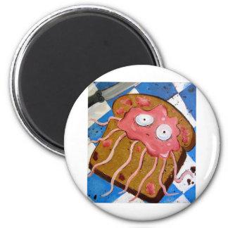 medusas imán redondo 5 cm