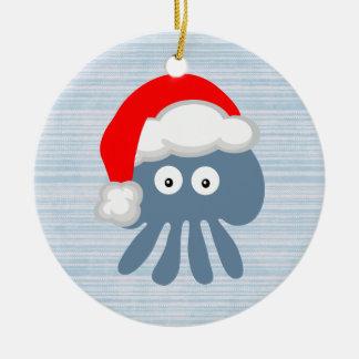 Medusas lindas de Santa Ornamentos De Navidad