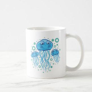 Medusas lindas taza