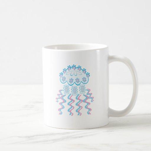 Medusas lindas tazas de café
