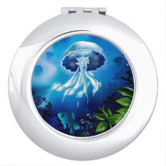 Medusas Espejos De Viaje