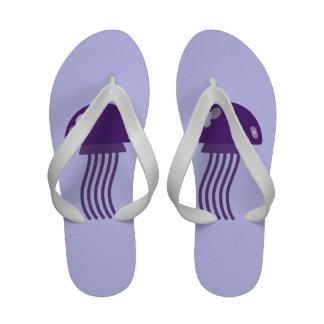 Medusas púrpuras