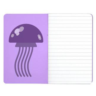 Medusas púrpuras cuaderno