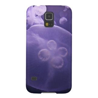 Medusas púrpuras funda de galaxy s5