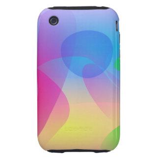Medusas rosadas tough iPhone 3 funda