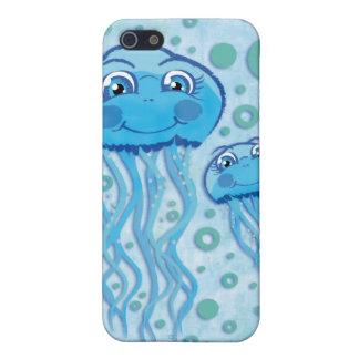 Medusas y burbujas lindas iphone4 iPhone 5 funda