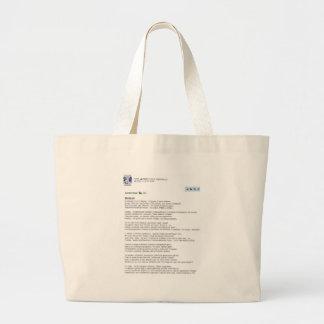 medved large tote bag