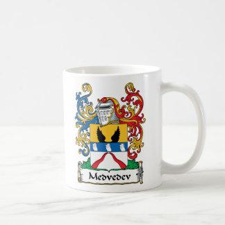 Medvedev Family Crest Classic White Coffee Mug
