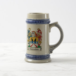 Medvedev Family Crest Coffee Mug