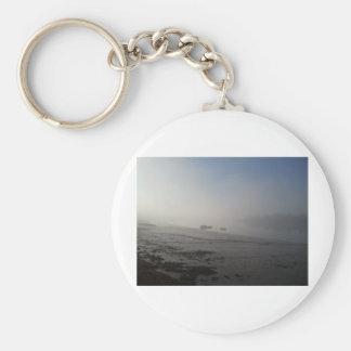 Medway Basic Round Button Keychain
