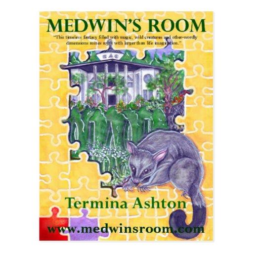 Medwin's Room Postcard