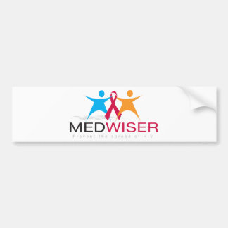 Medwiser Black Bumper Sticker