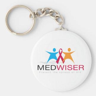 Medwiser Black Keychain