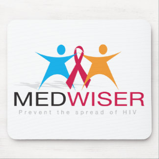 Medwiser Black Mouse Pad
