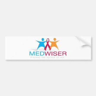 Medwiser Blue Bumper Sticker
