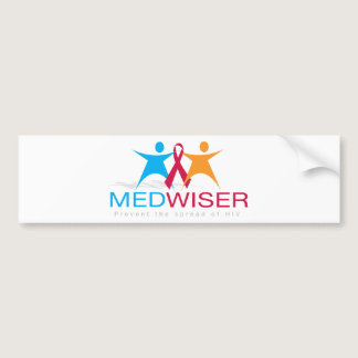 Medwiser Blue Bumper Sticker