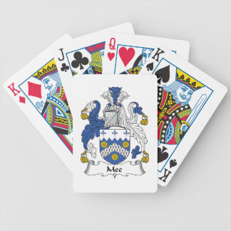 Mee Family Crest Bicycle Playing Cards