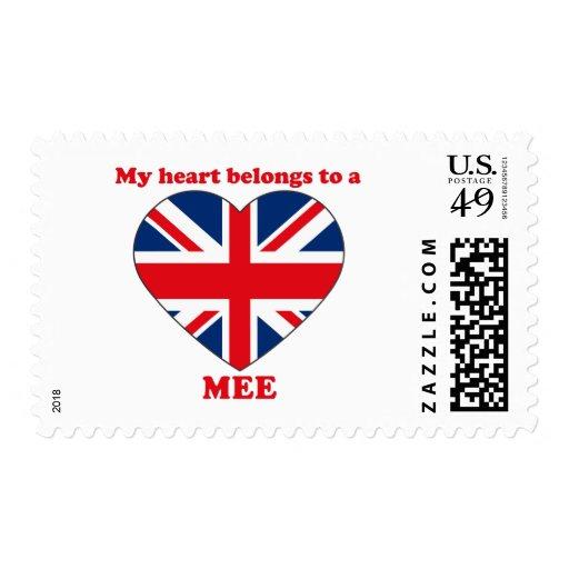 Mee Postage Stamp