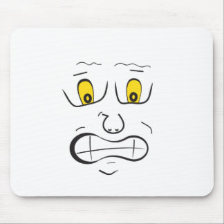 Meee.......frightened!! Mouse Pad