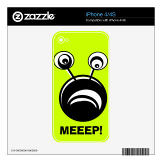 Meeep iPhone 4S Decal