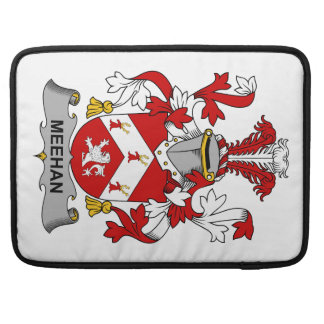 Meehan Family Crest Sleeves For MacBook Pro