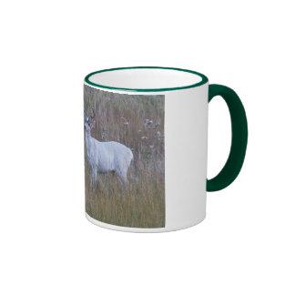 Meeker's White Deer 1 Ringer Coffee Mug