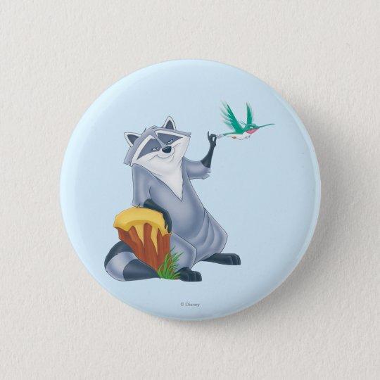 Meeko and Flit Pinback Button