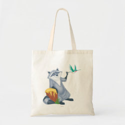 Budget Tote with Meeko & Flit of Pocahontas design