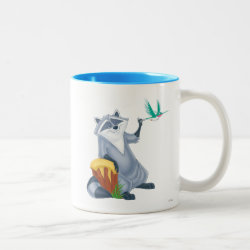 Meeko & Flit of Pocahontas Two-Tone Mug