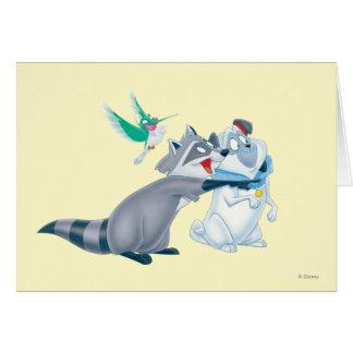 Meeko & Friends Cards