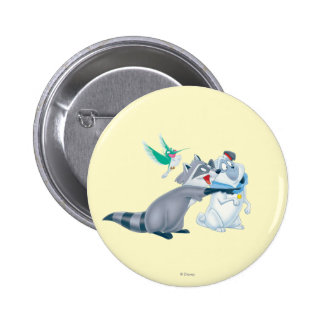 Meeko & Friends Pinback Button